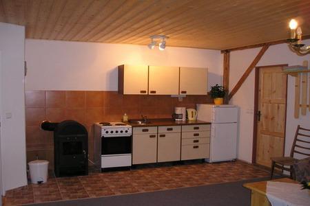 Penziony Orlické hory - Penzion u Zdobnice - kuchyň